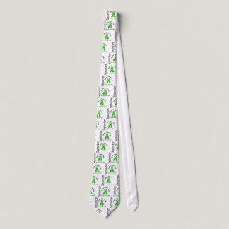 Lymphoma Awareness Month Flower Ribbon 1 September Tie