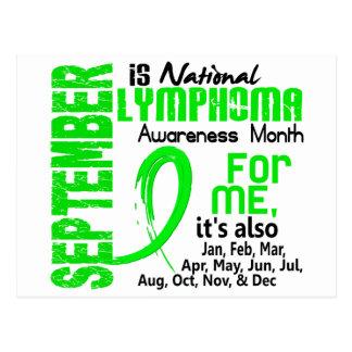 Lymphoma Awareness Month For ME Postcard