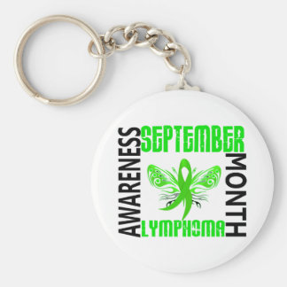 Lymphoma Awareness Month Keychains