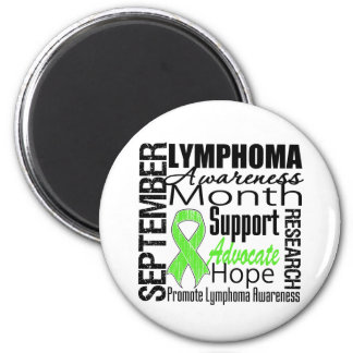 Lymphoma  Awareness Month 2 Inch Round Magnet