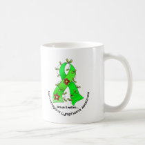 Lymphoma Awareness Non-Hodgkins FLOWER RIBBON 1 Coffee Mug