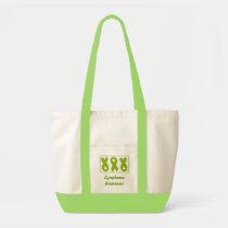 Lymphoma Awareness Ribbons Bag
