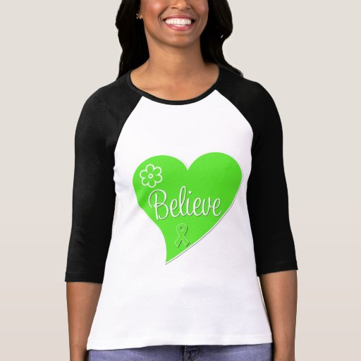 Lymphoma Believe Heart Tees