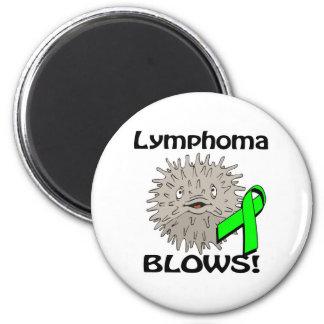 Lymphoma Blows Awareness Design Magnet