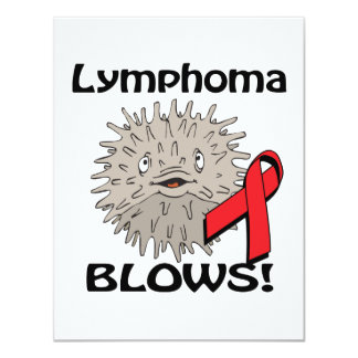 Lymphoma Blows Red Awareness Design Announcement