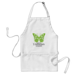 Lymphoma Butterfly Adult Apron