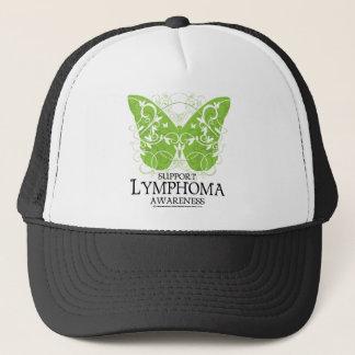 Lymphoma Butterfly Trucker Hat