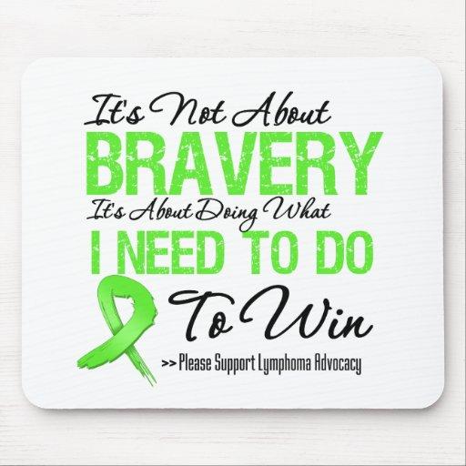 Lymphoma Cancer Battle Mouse Pad