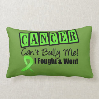 Lymphoma Cancer Can't Bully Me...I Fought and Won Pillows