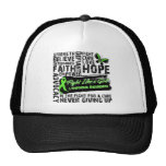 Lymphoma Cancer Collage - Fight Like a Girl Mesh Hats