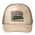 Lymphoma Cancer Collage - Fight Like a Girl Hats