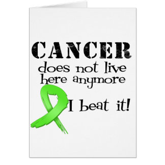 Lymphoma Cancer Does Not Live Here Anymore Cards