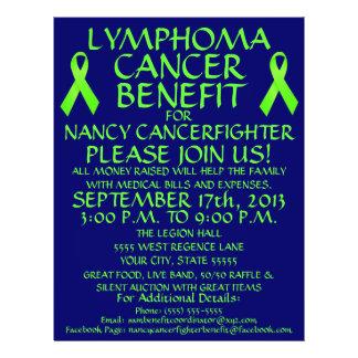 Lymphoma Cancer Fighter Benefit Flyer