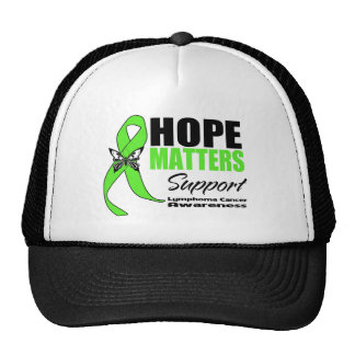 Lymphoma Cancer Hope Matters Trucker Hat