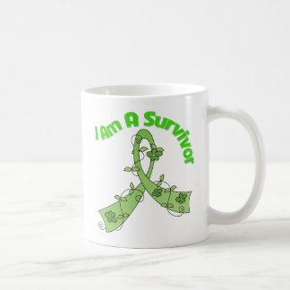 Lymphoma Cancer I Am A Survivor Classic White Coffee Mug