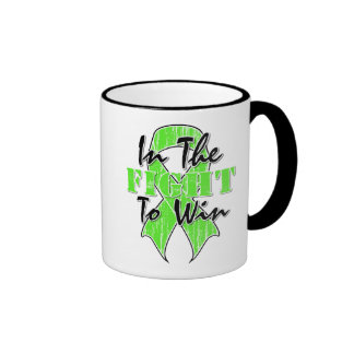 Lymphoma Cancer In The Fight To Win Ringer Coffee Mug