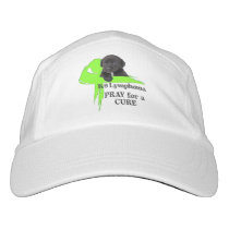 Lymphoma Cancer | Lime Green Cancer Ribbon | Blood Hat