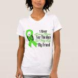 Lymphoma Cancer Ribbon My Hero My Friend T Shirt