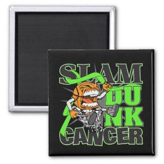 Lymphoma Cancer - Slam Dunk Cancer Magnet