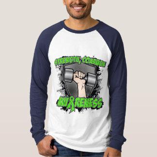Lymphoma Cancer Strength Courage Men T-Shirt