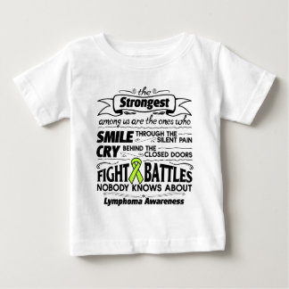 Lymphoma Cancer Strongest Among Us Baby T-Shirt
