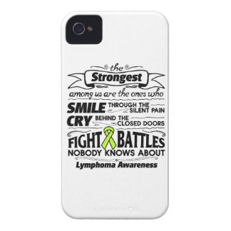 Lymphoma Cancer Strongest Among Us Case-Mate iPhone 4 Case