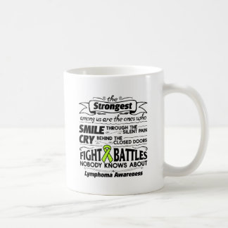 Lymphoma Cancer Strongest Among Us Coffee Mug