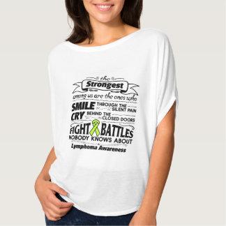 Lymphoma Cancer Strongest Among Us T-Shirt