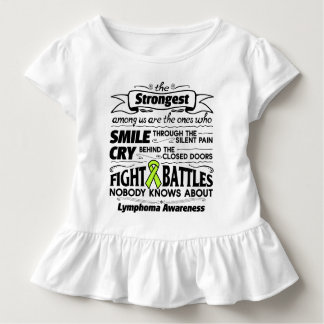 Lymphoma Cancer Strongest Among Us Toddler T-shirt