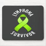 Lymphoma Cancer Survivor Mousepad