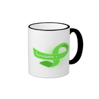 Lymphoma Cancer Survivor Ribbon Mug