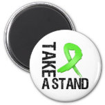 Lymphoma Cancer Take A Stand Magnet