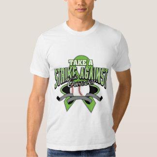 Lymphoma Cancer Take A Strike T-shirt