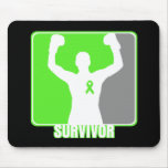 Lymphoma Cancer Winning Survivor Mouse Pad
