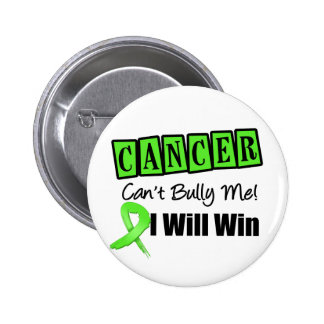 Lymphoma Cant Bully Me I Will Win Pinback Buttons