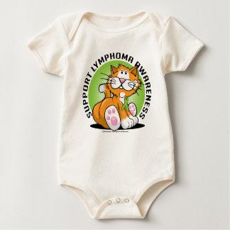 Lymphoma Cat Baby Bodysuit