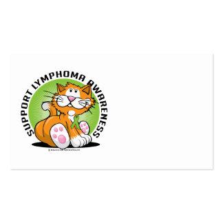 Lymphoma Cat Business Card