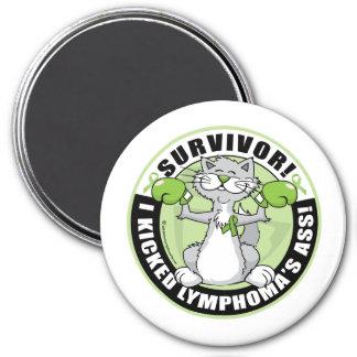 Lymphoma Cat Survivor Magnet