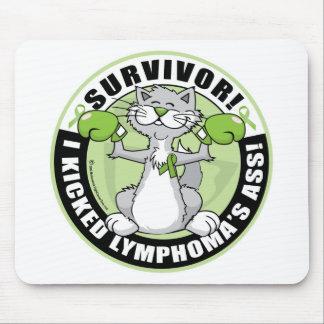 Lymphoma Cat Survivor Mouse Pad
