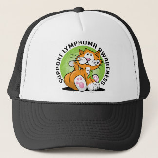 Lymphoma Cat Trucker Hat