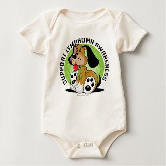 Lymphoma Dog Baby Bodysuit