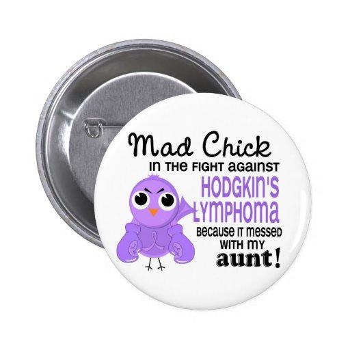 Lymphoma/enfermedad del polluelo 2 de tía Hodgkin  Pins