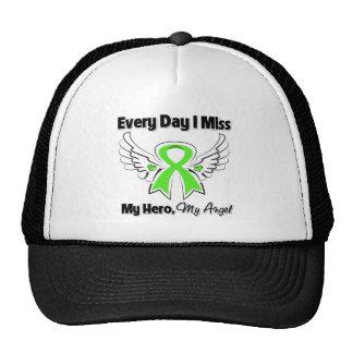 Lymphoma Every Day I Miss My Hero Trucker Hat