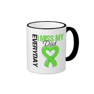 Lymphoma Everyday I Miss My Dad Ringer Coffee Mug