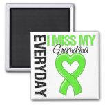 Lymphoma Everyday I Miss My Grandma Refrigerator Magnets