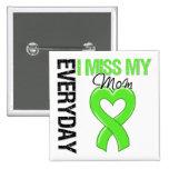 Lymphoma Everyday I Miss My Mom Pin