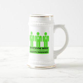 Lymphoma Everyone Wins With Awareness Coffee Mugs