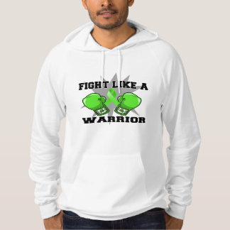 Lymphoma Fight Like a Warrior Hooded Pullover