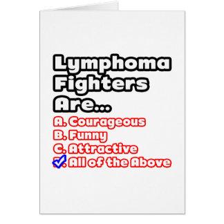 Lymphoma Fighter Quiz Card