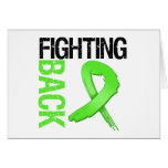Lymphoma Fighting Back Greeting Cards